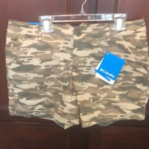 Columbia Camouflage Shorts